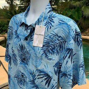 Tommy Bahama Adriatic Fronds IslandZone Camp Shirt